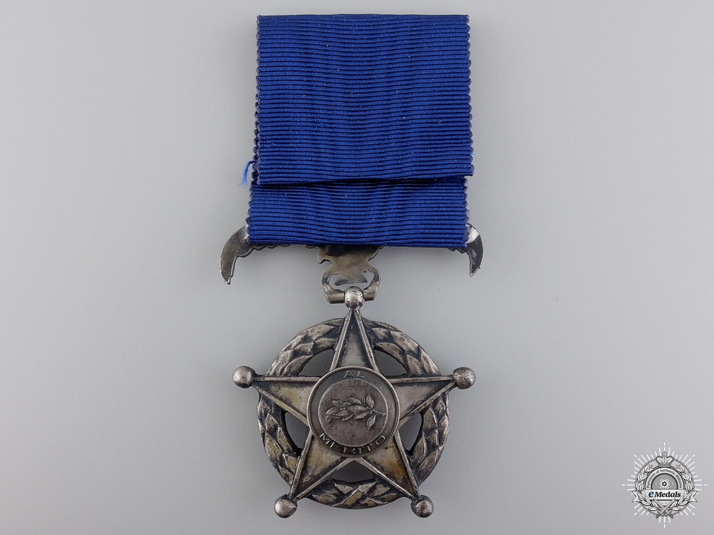 A Chilean Order of Merit; Breast Badge Sixth Class