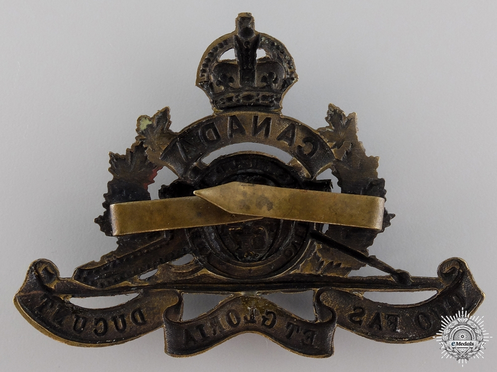 WWI 67th University of Toronto Overseas Field Battery Cap Badge  Consignment 17