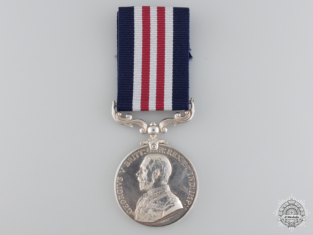 A First War Military Medal to an Indian Canadian Engineer