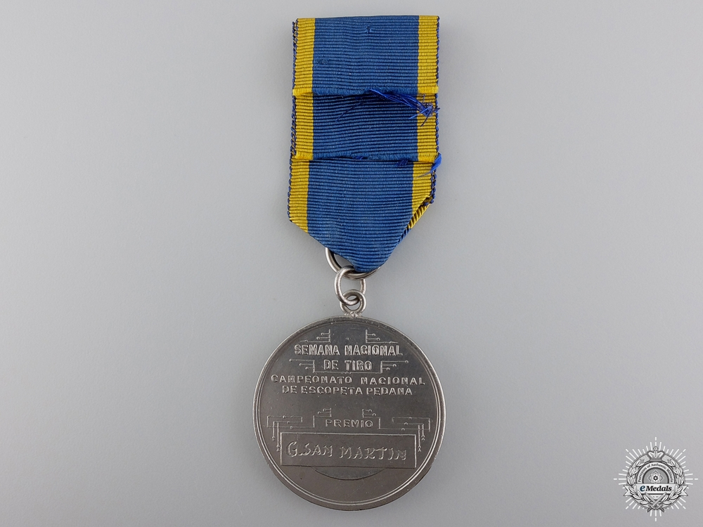 An Argentinian Commandos Service Medal