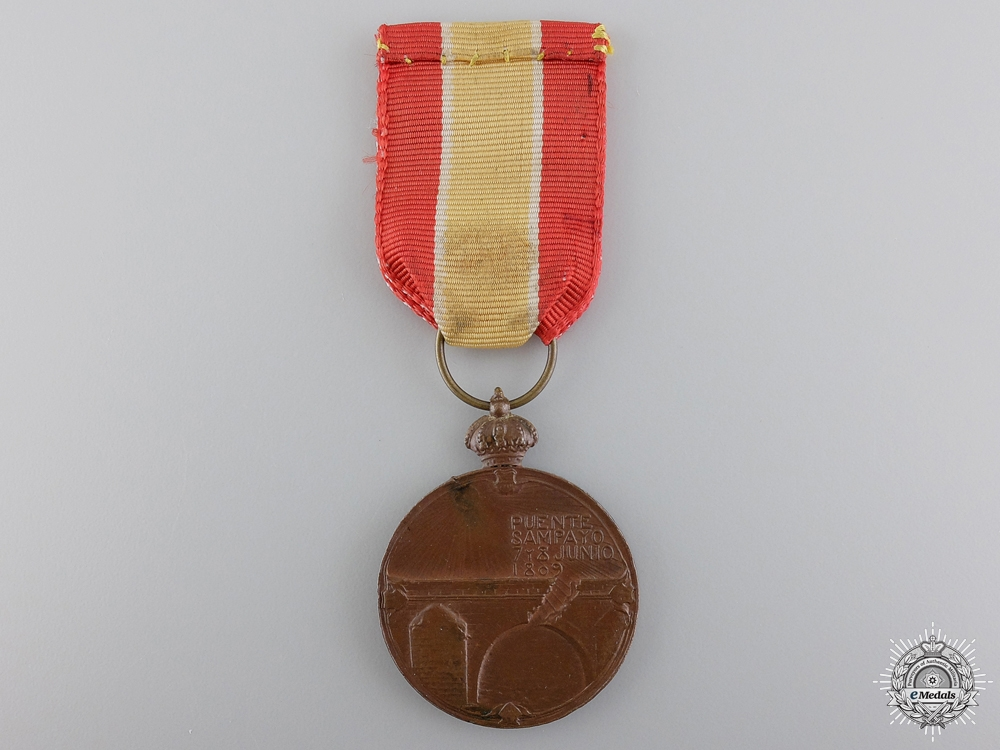A 1809-1909 Spanish Sampayo Bridge Centenary Medal
