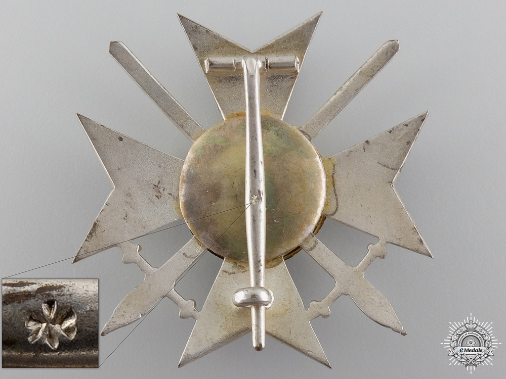 A First War Bulgarian Military Order for Bravery; 4th Class,