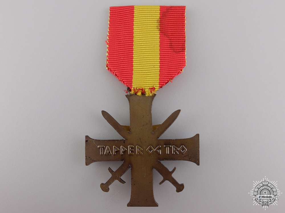 A Norwegian Merit Cross with Swords 1940-45; Quisling Issue