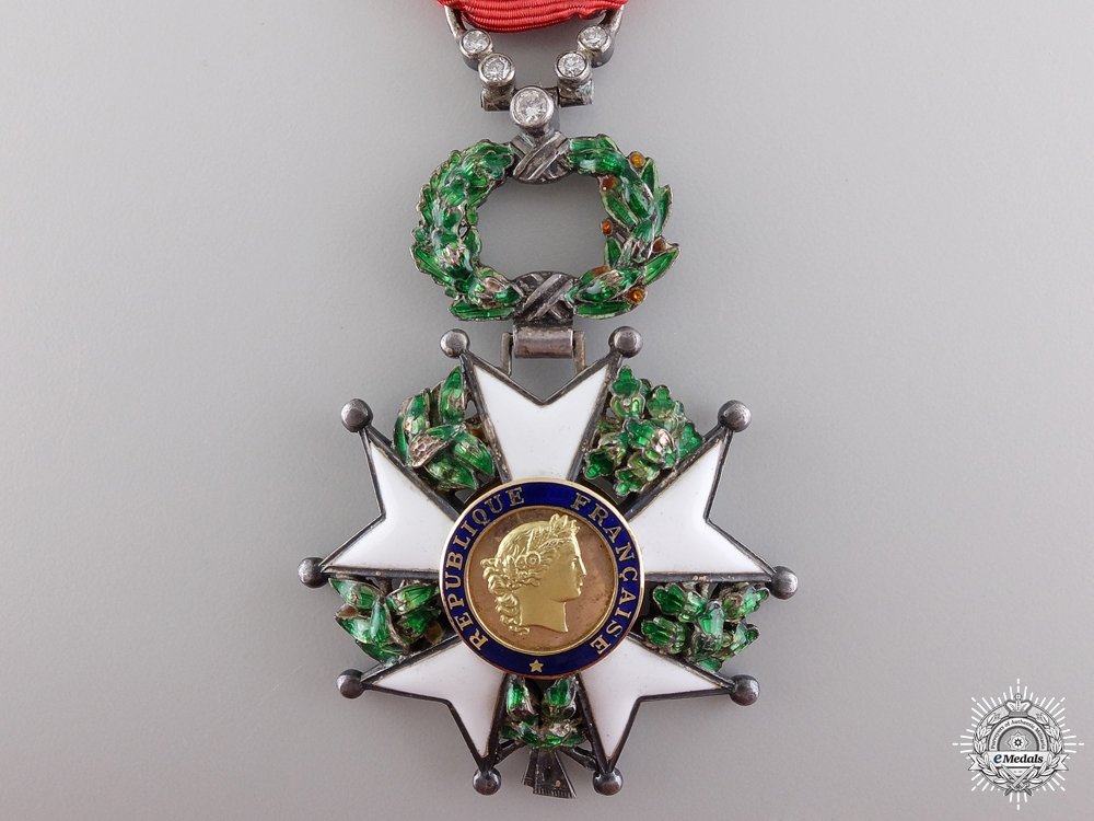 A Fine French Legion D' Honneur with Diamonds