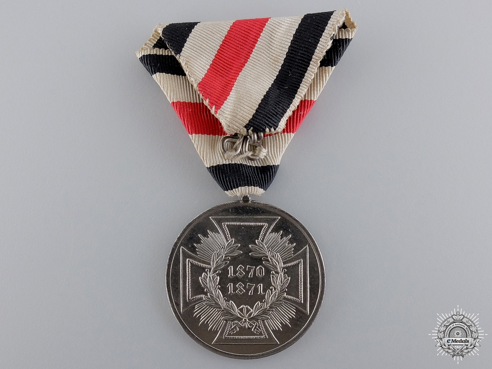An 1870-71 Prussian Non Combatant War Medal