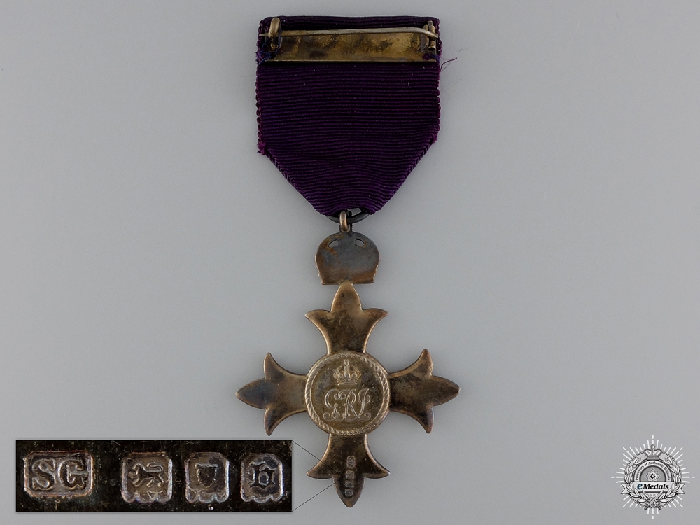 A Most Excellent Order of the British Empire; MBE