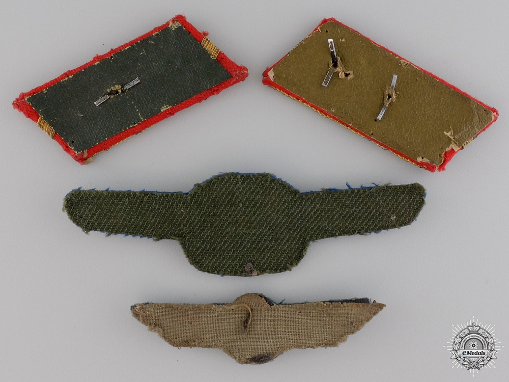 A Set of Second War Imperial Japanese Pilot Insignia