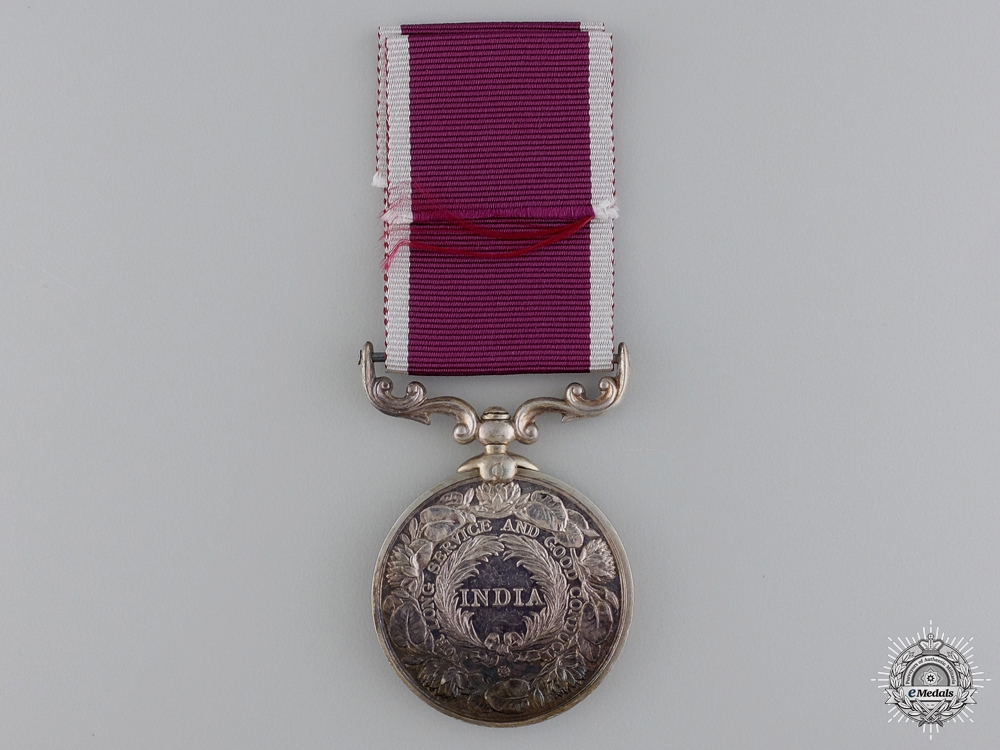 An Indian Army Long Service & Good Conduct Medal