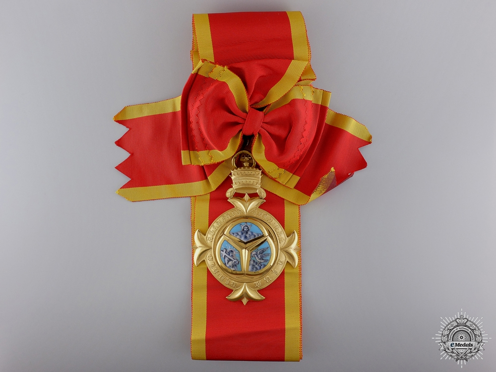 An Ethiopian Order of the Trinity; Grand Cross