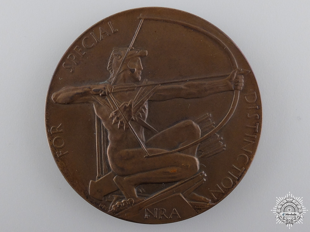 A 1929 King's Competition Medal for the National Rifle Association  Consignment #26