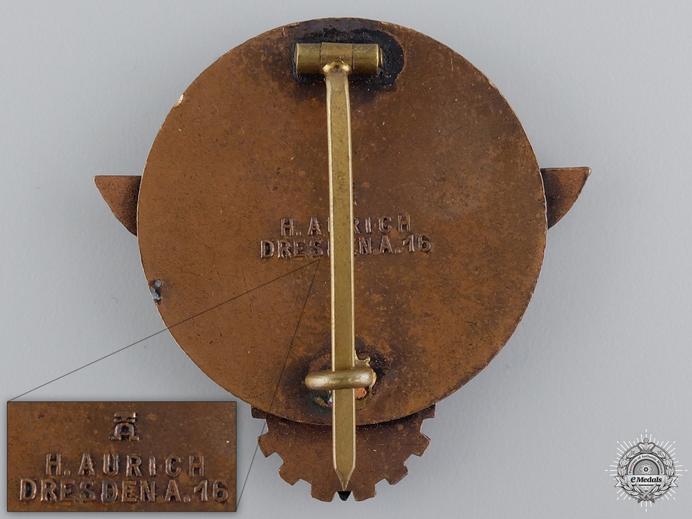 An HJ Victors Badge in the National Trade Competition by H.Aurich