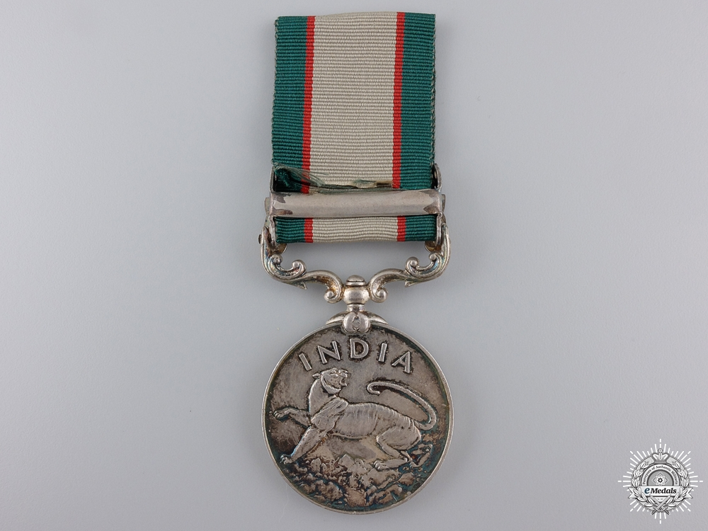 An India General Service Medal to the 10th Baluch Regiment