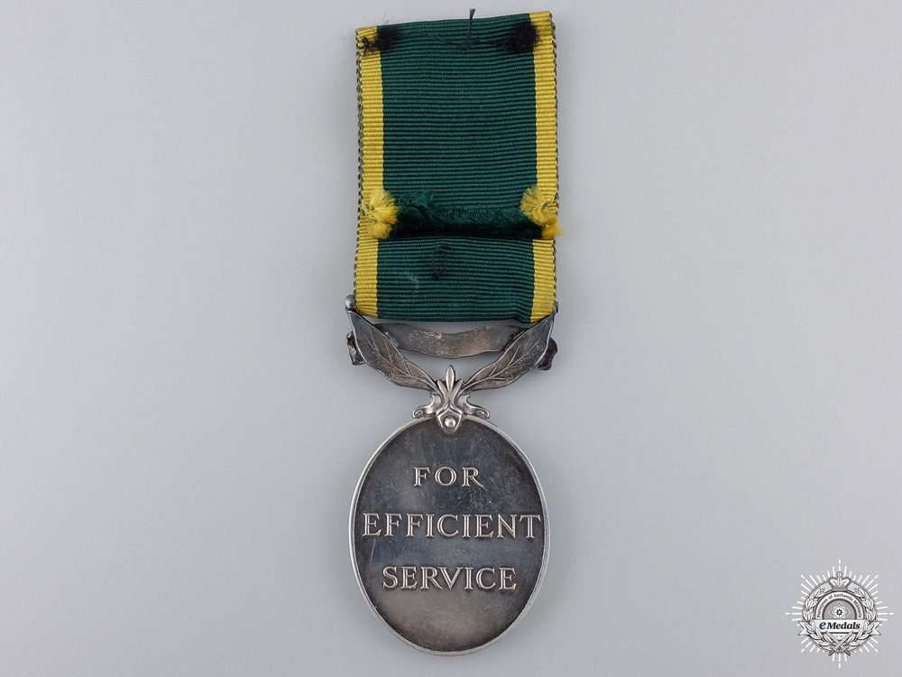 An Efficiency Medal Grouping to the Royal Artillery