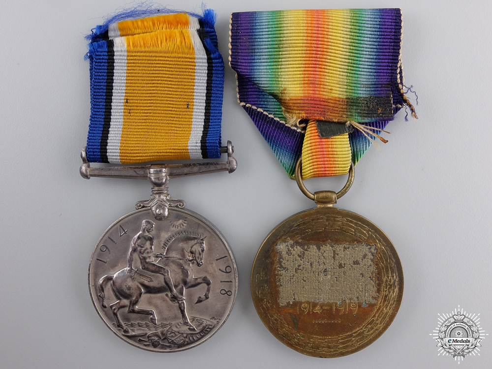 An Unnamed First War Medal Pairing