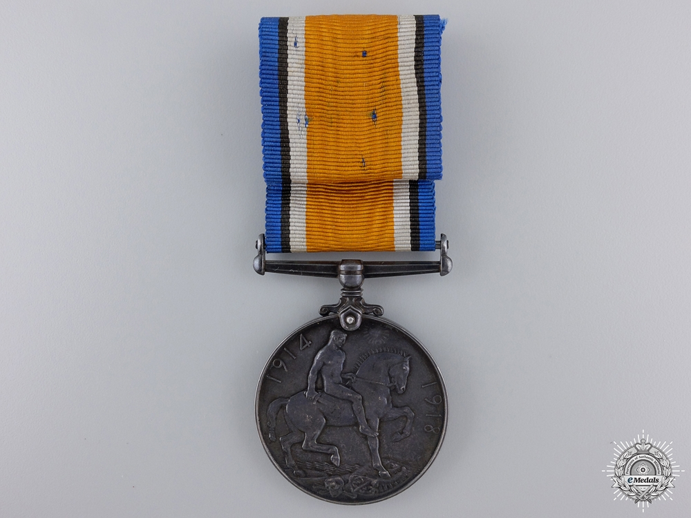 A First War Medal to the Canadian Tank Corps