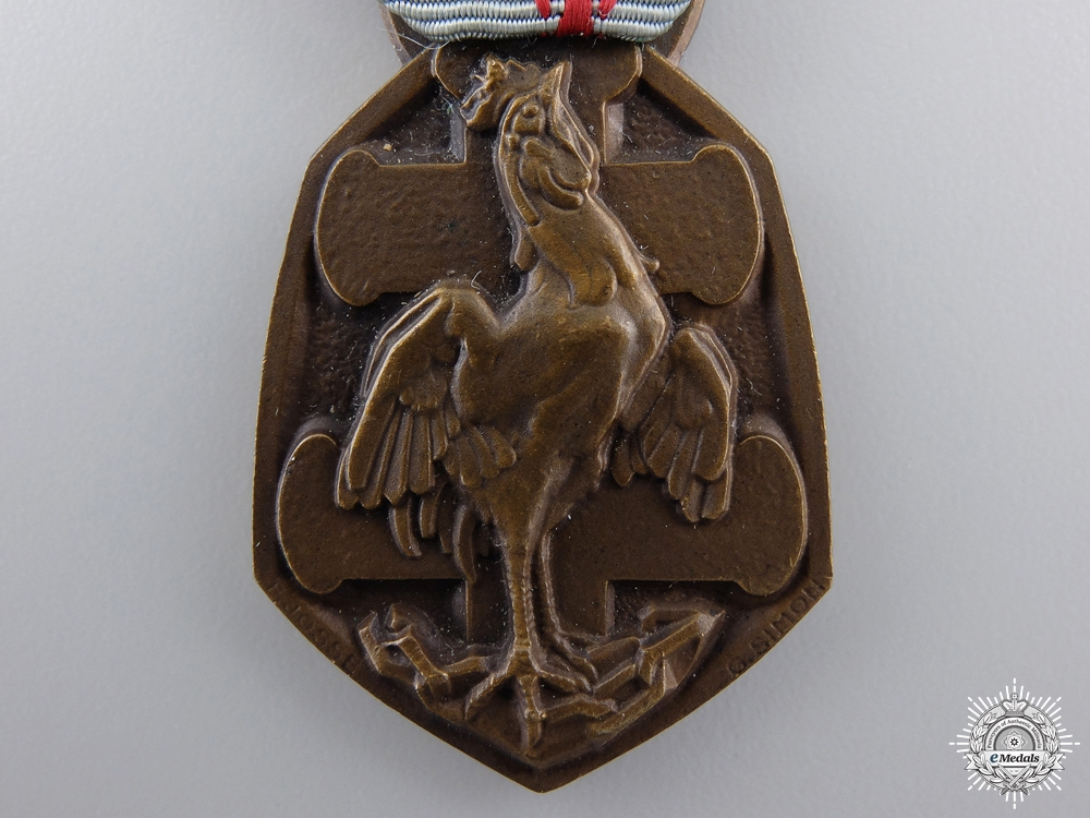 A WWII French Commemorative Medal