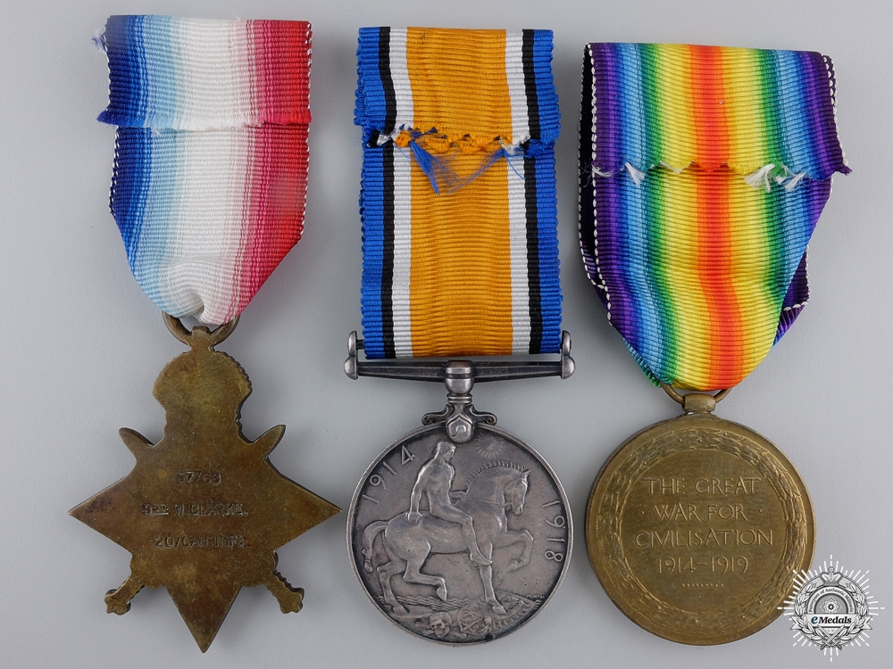 A First War Trio to the 20th Canadian Infantry Battalion
