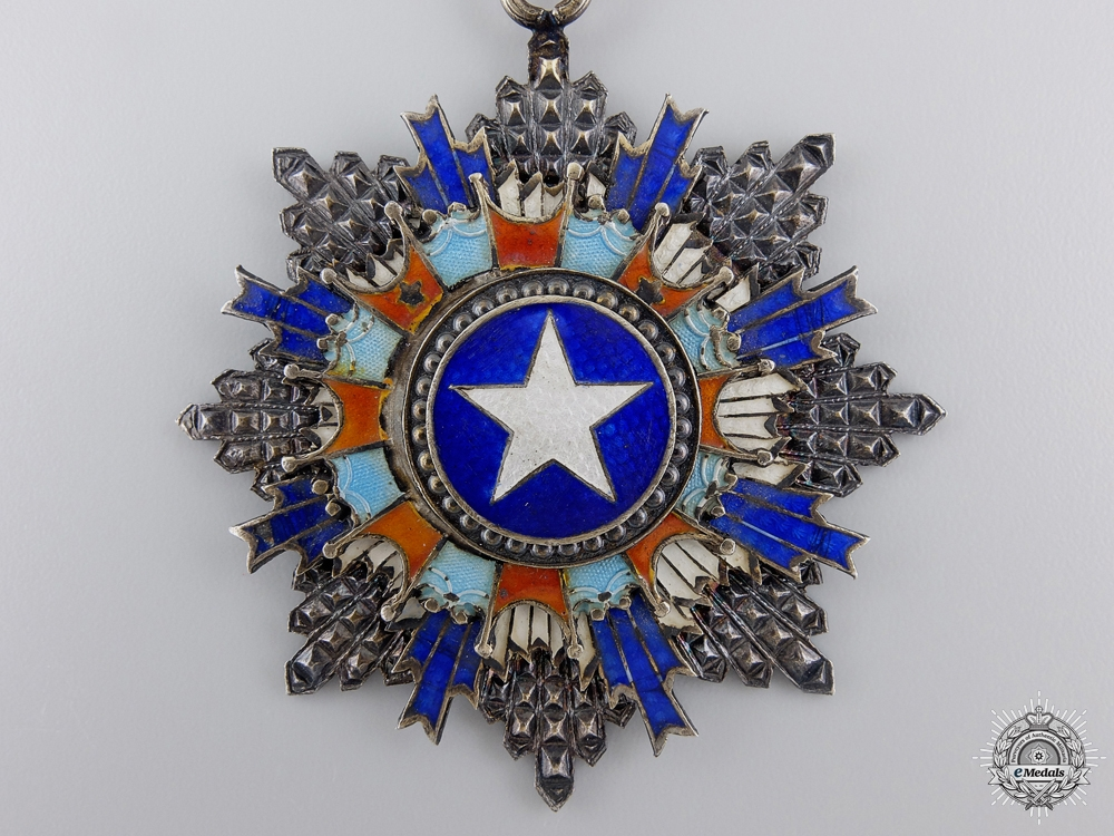 A Chinese Order of the Brilliant Star; Second Class