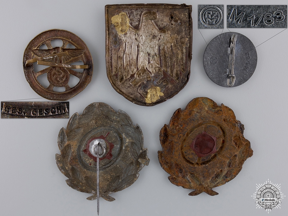 A Lot of Third Reich Period Badges/Insignia