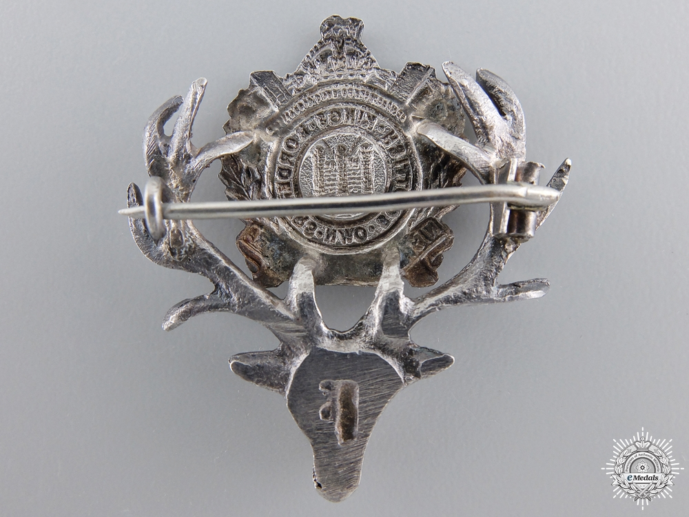 A King's Own Scottish Boarders Stag Pin