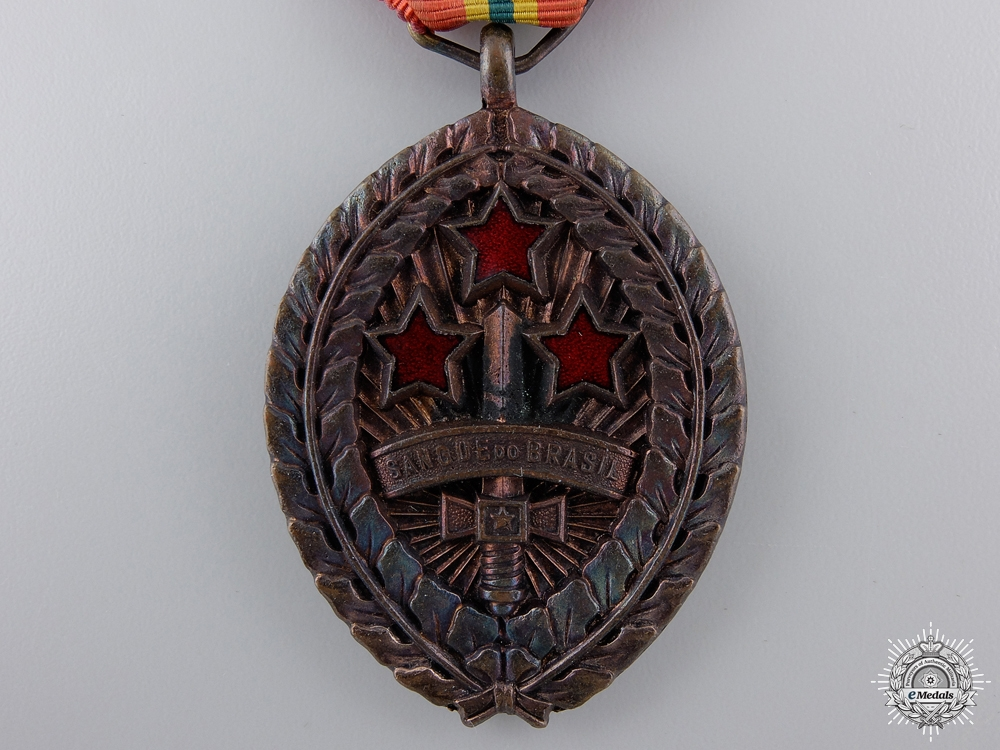 """A Second War Army """"Blood of Brazil"""" Medal 1945"""