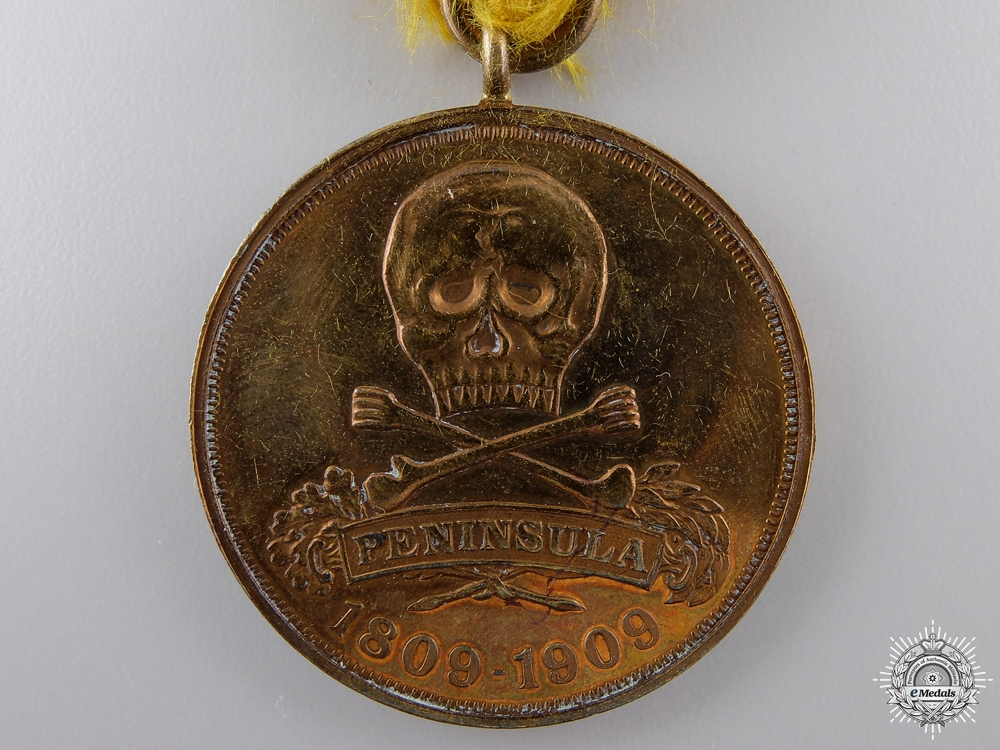 A 1809-1909 Brunswick Peninsula War 100th Year Medal