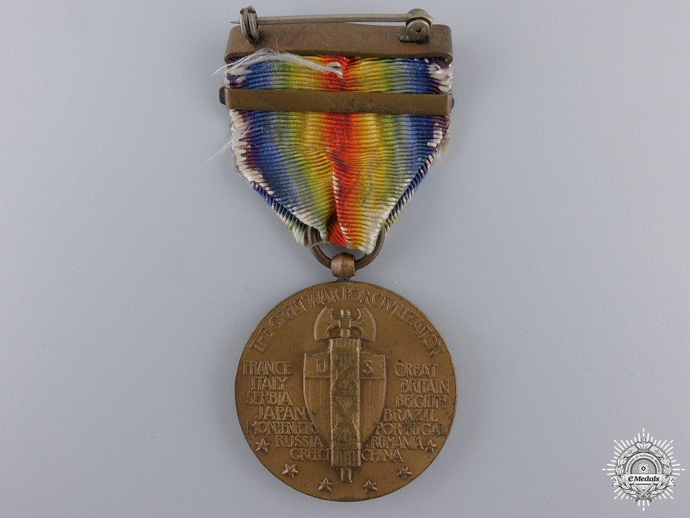 A First War American Victory Medal; Siberia