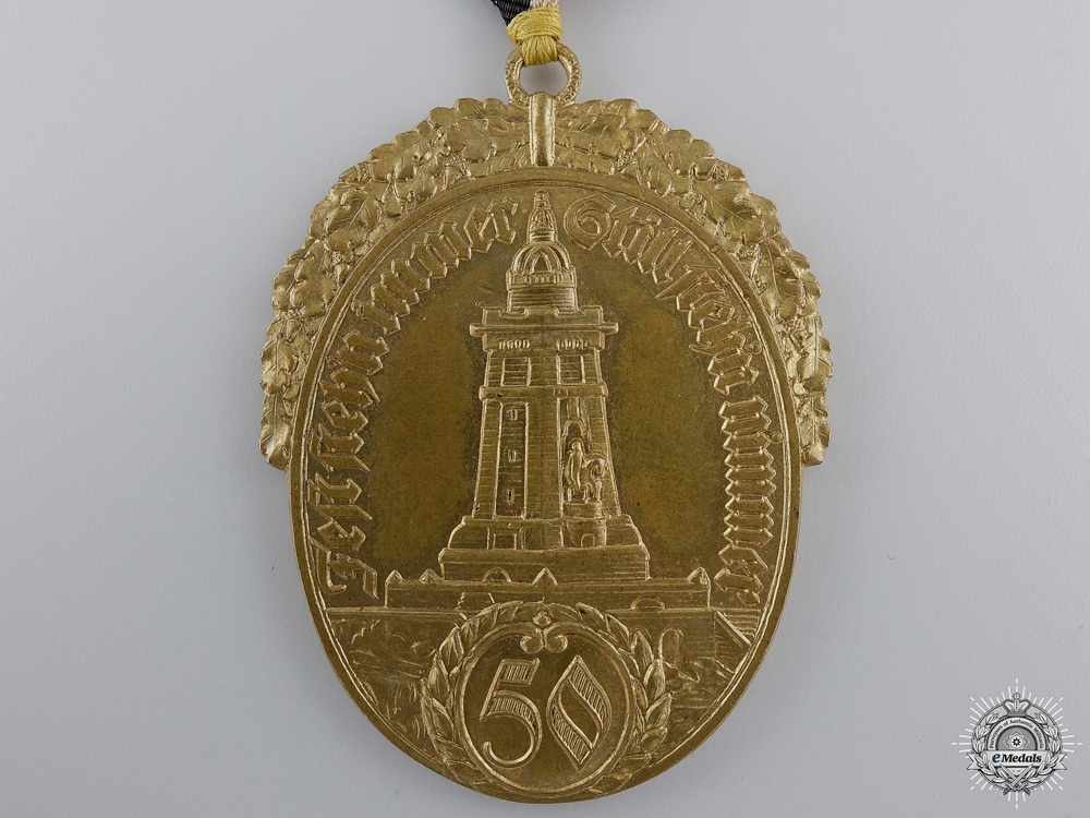 A Prussian State Veteran's Association Fifty Year Membership Medal