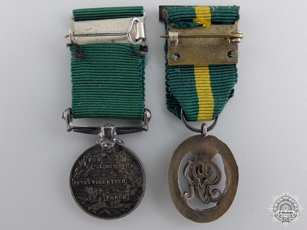 Two Miniature Decorations & Medals