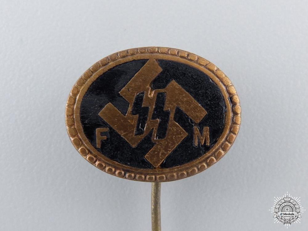 An SS Badge for Supporting Members by Deschler