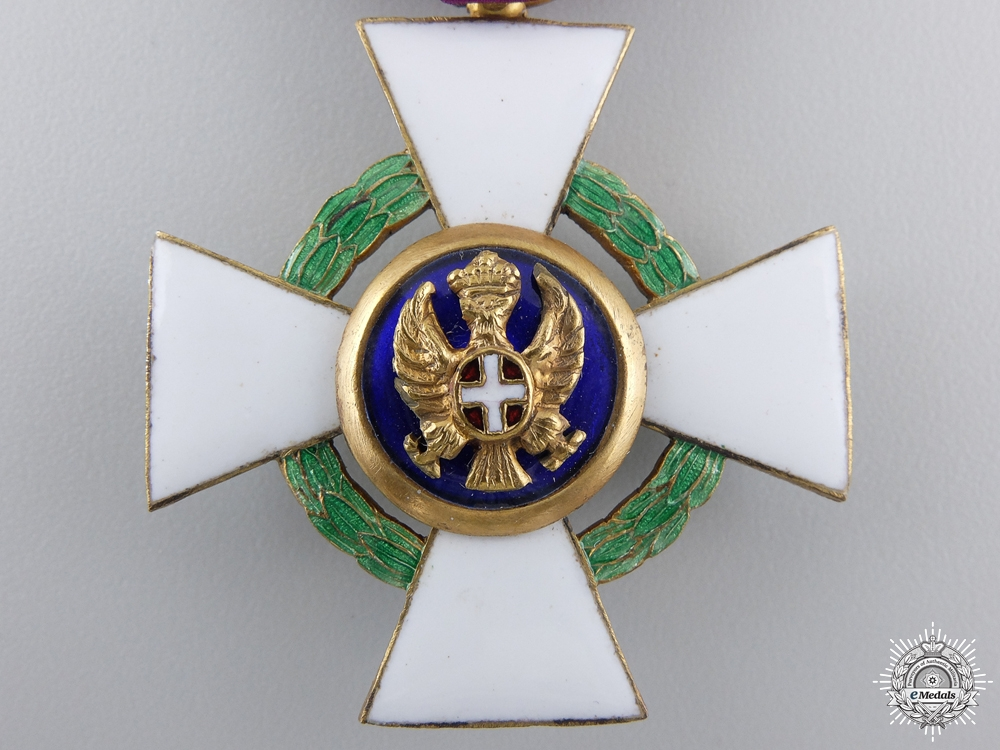 An Italian Order of the Roman Eagle, Knight; Civil 1942-1943