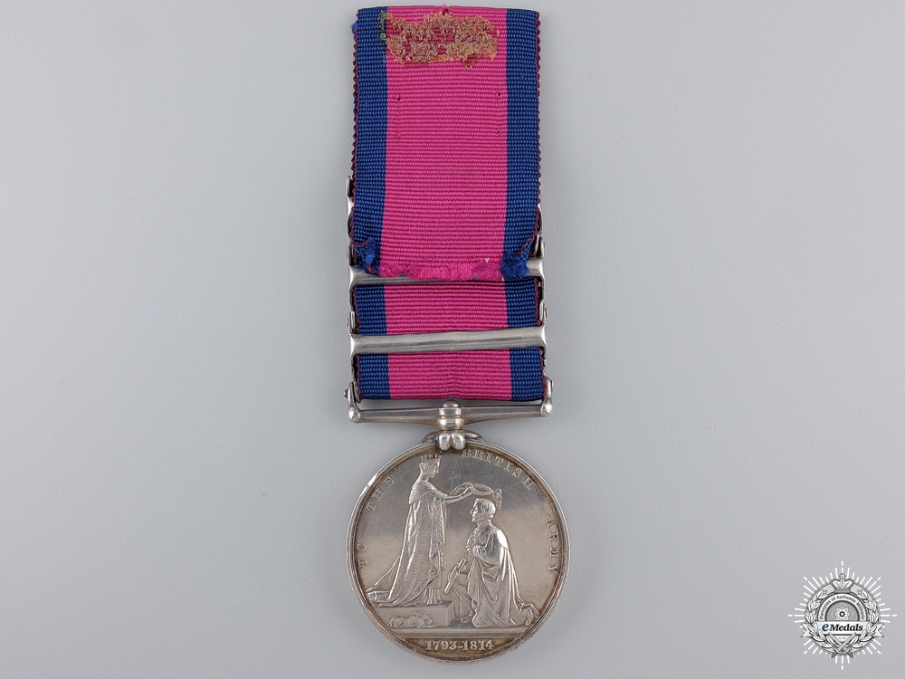 A Military General Service Medal to the 32nd (Cornwall) Regiment of Foot  Consignment 21