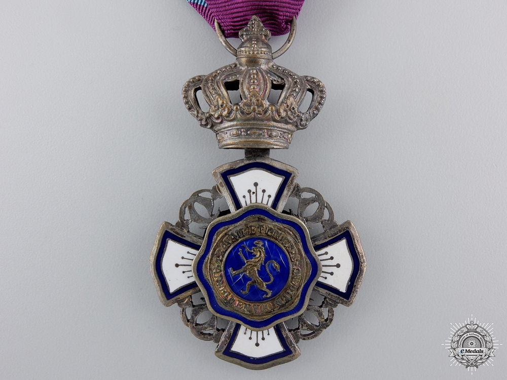 A Royal Order of the Lion (Belgium Congo); Knight's Badge