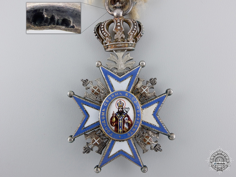 An Austrian Made Serbian Order of St. Sava by Scheid