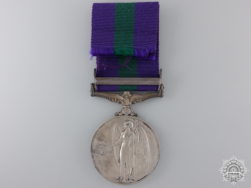 A General Service Medal 1918- 1962 to the Royal Air Force