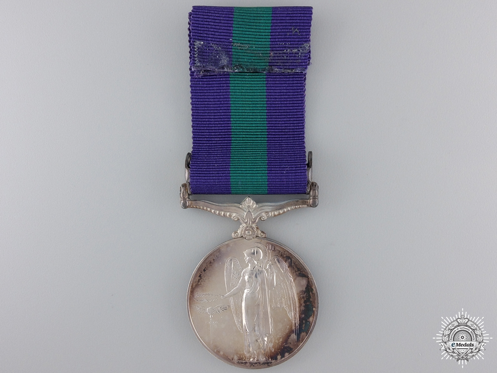 A General Service Medal 1918-1962 for Air Council Instructions