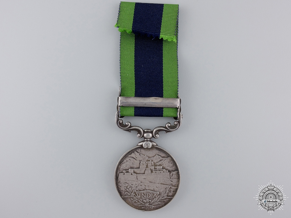 An India General Service Medal to the Political Department
