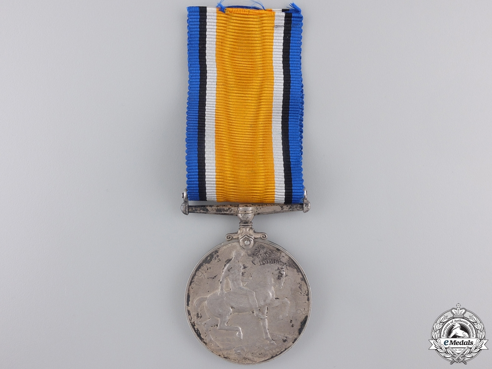 A WWI British War Medal to the 14th Canadian Infantry