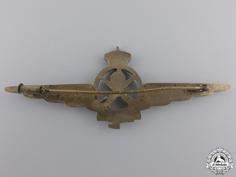 A Second War Italian Air Force Armourer Badge