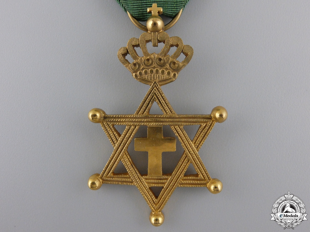 An Ethiopian Order of Solomon's Seal; Knight