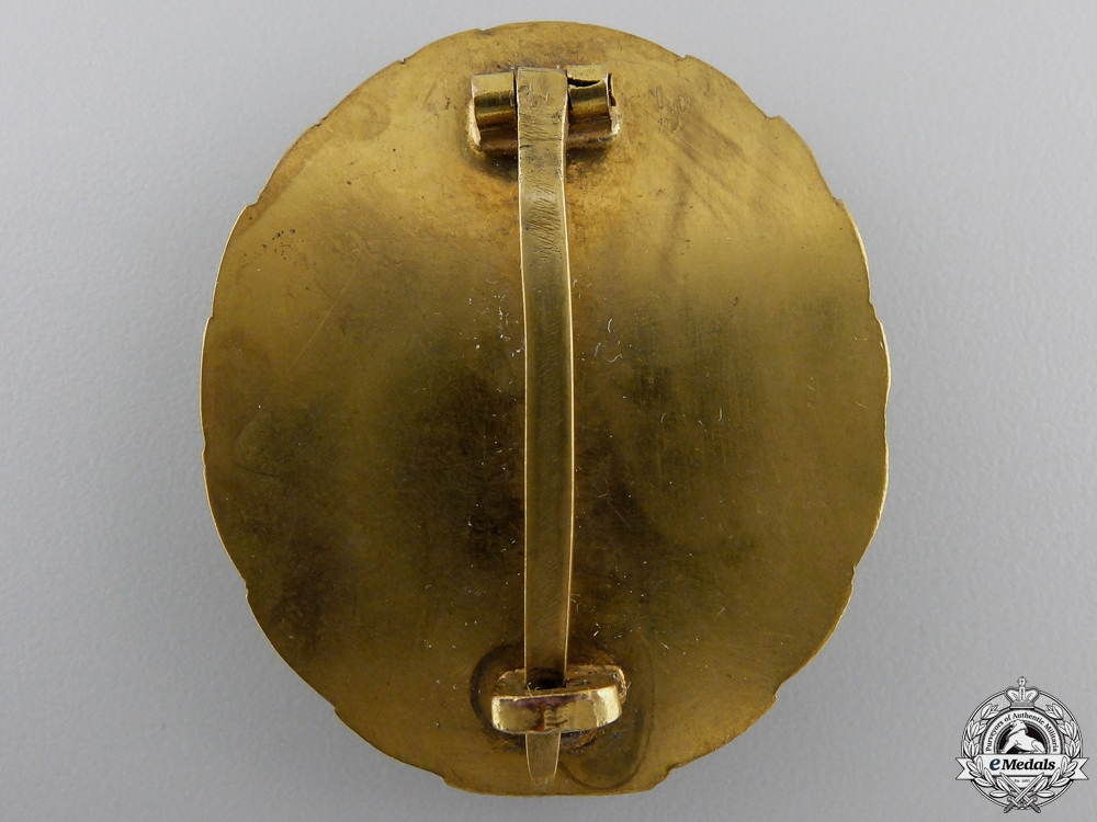 A Gold Grade Wound Badge; Early Type