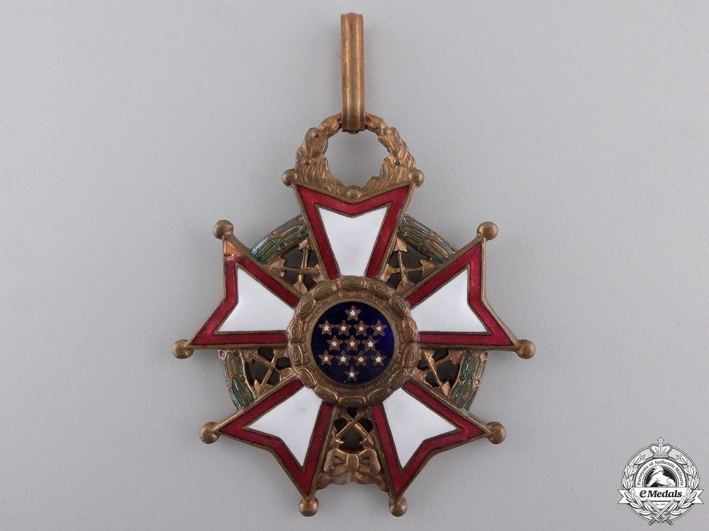 An American Legion of Merit; Commander's Neck Badge