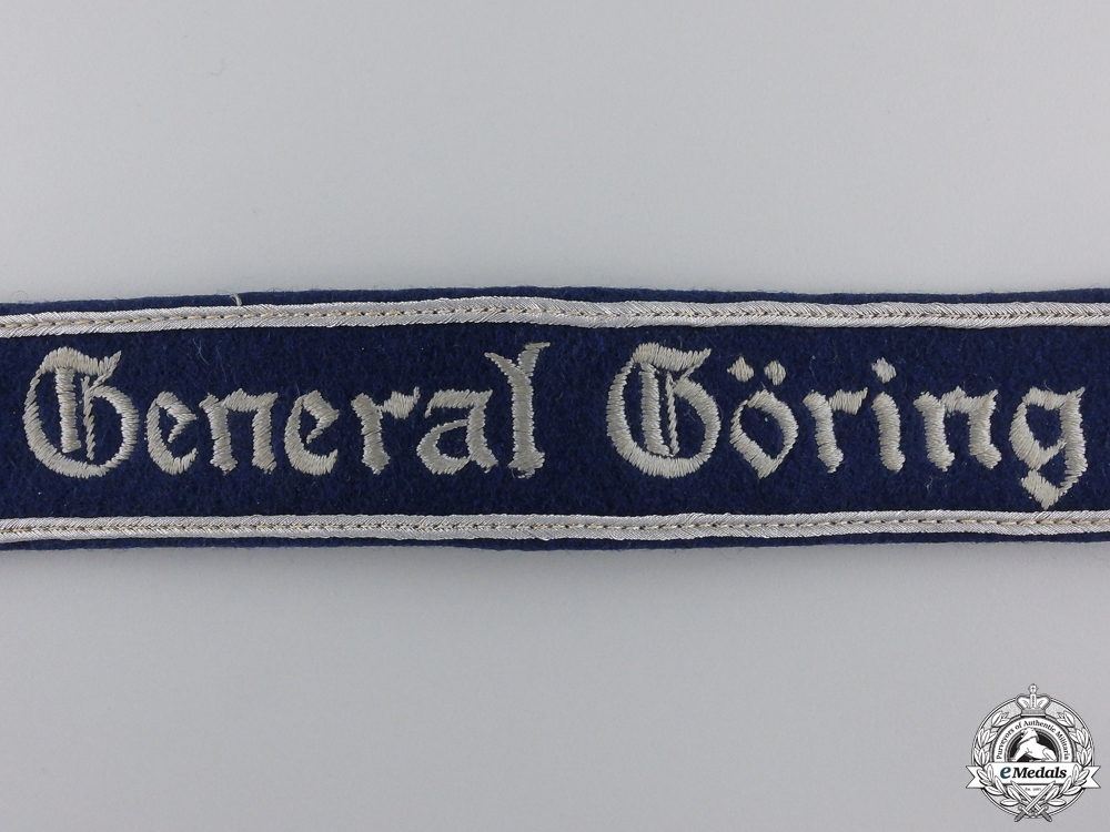 A General Göring Officer's Cufftitle