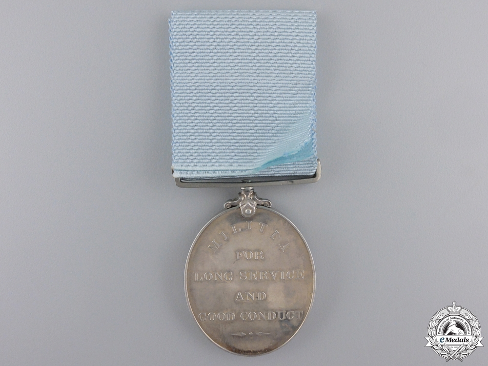 A Militia Long Service and Good Conduct Medal