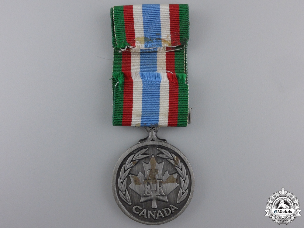 A Canadian Peacekeeping Service Medal