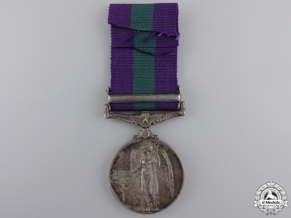 A General Service Medal 1962-2007 for Malaya Service