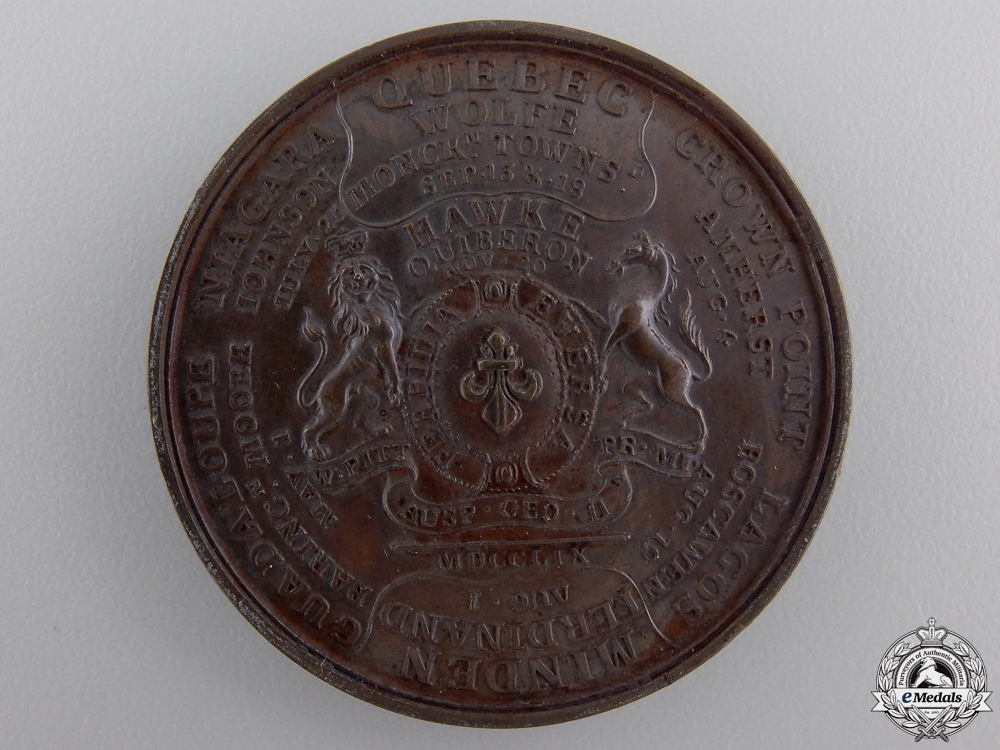 A 1759 Seven Years' War Campaign Medal