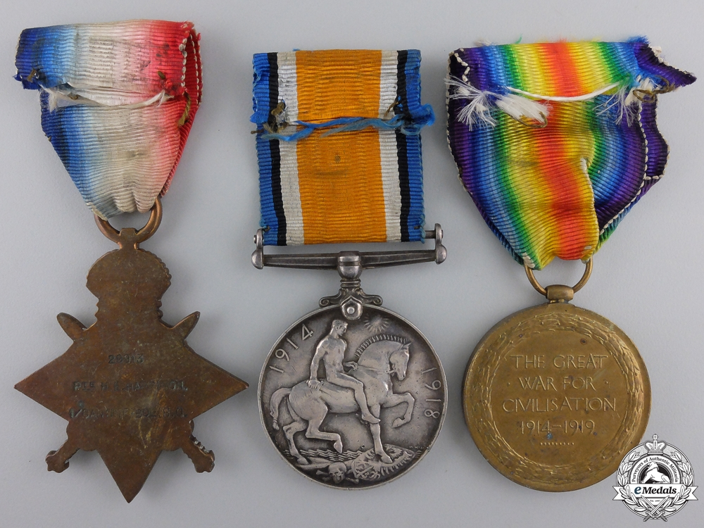 A First War Trio to the 1st Canadian Infantry Brigade Headquarters