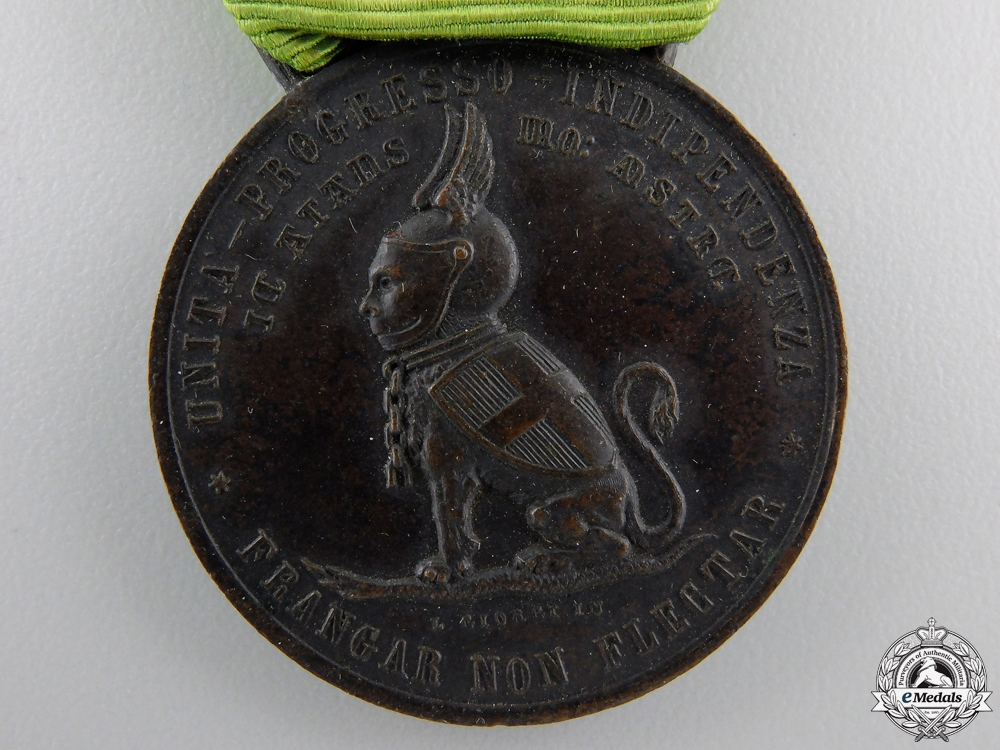 An 1884 Duke of Tuscany Independence Medal