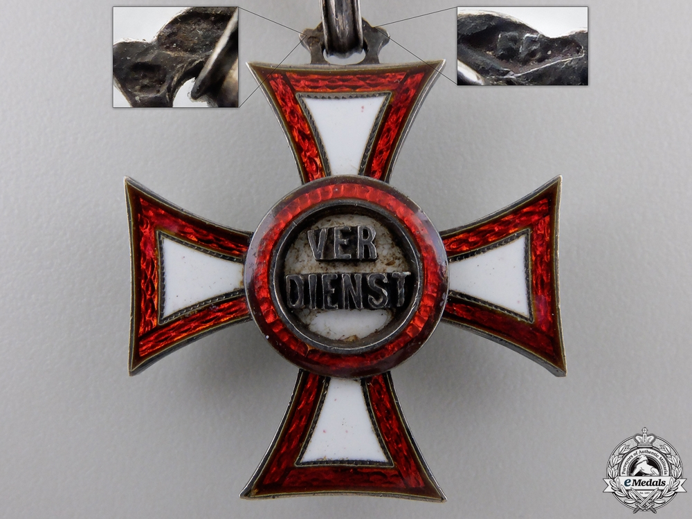An Austrian Military Merit Cross by Rothe